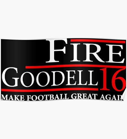 Fire Goodell - Make Football Great Again Poster