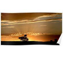 Last Rays - Nairne - Adelaide Hills Poster
