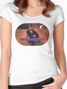 Denzel Aquarius'Killa Curry  Women's Fitted Scoop T-Shirt