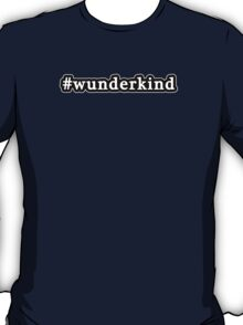 Wunderkind - Hashtag - Black & White T-Shirt
