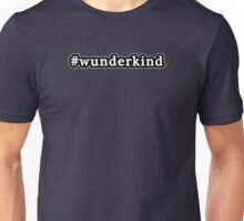 Wunderkind - Hashtag - Black & White Unisex T-Shirt