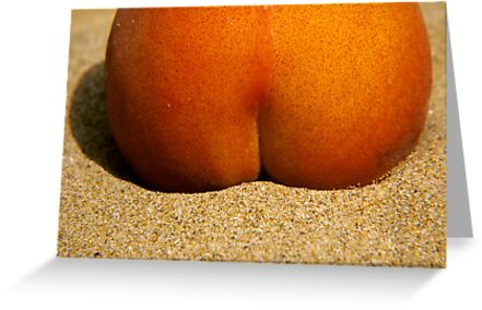 Peach Bum by Hans Kawitzki