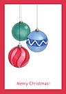 Christmas Baubles by Mariana Musa