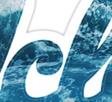 UCLA Ocean Style Sticker