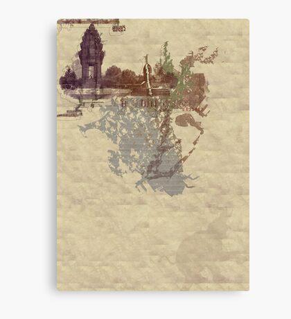 Asia Canvas Print