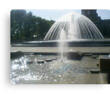 huge waterfountains Canvas Print