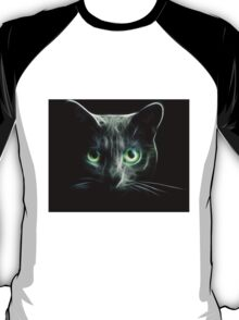 Kitty Cat eyes glow in the Dark T-Shirt