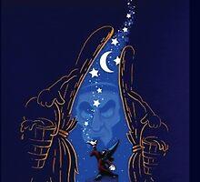 Sorcerer Mickey - Fantasia by PagingDrLockart