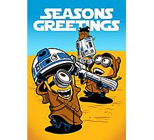 Despicable Jawas - Seasons Greetings Card Photographic Print