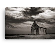 Silverton Church Canvas Print