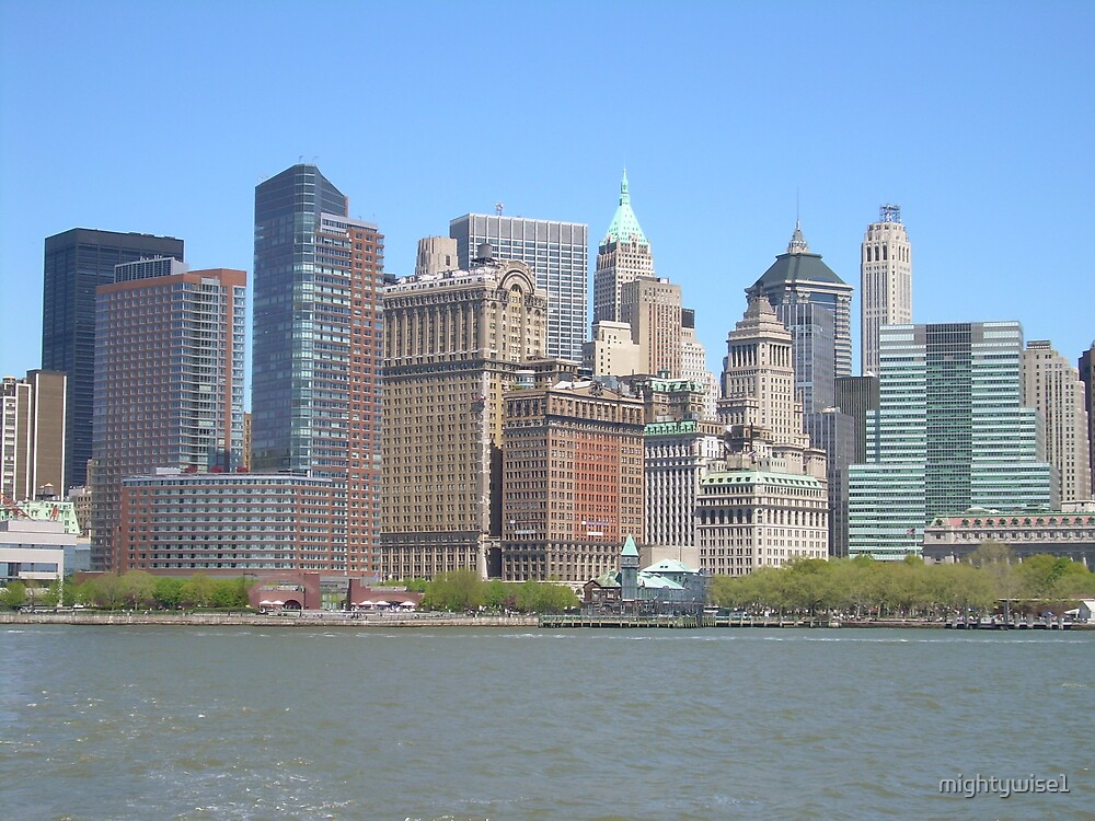NY Cityscape by mightywise1