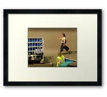 The Baggage Handlers Framed Print