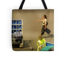 The Baggage Handlers Tote Bag