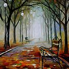 The Way To The Fog — Buy Now Link - www.etsy.com/listing/210410637 by Leonid  Afremov