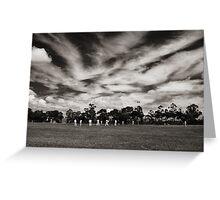 Local Cricket Greeting Card