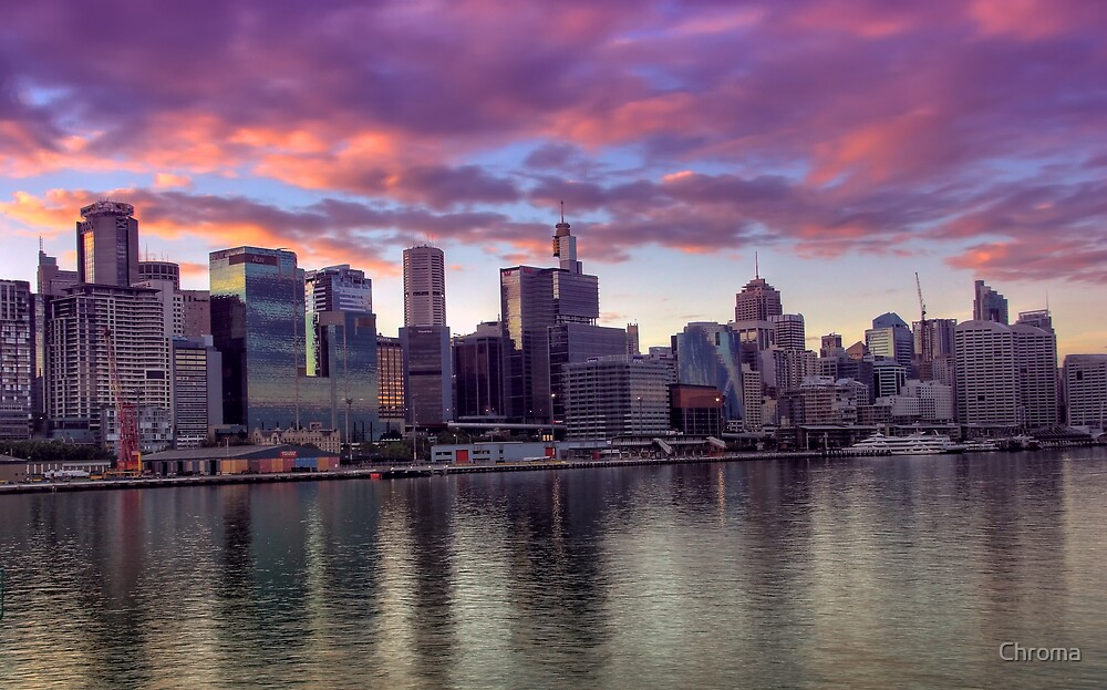 Sydney at Dawn by Chroma