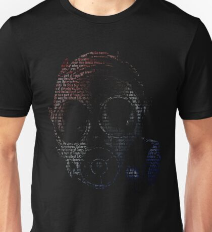 Thatcher Head Rainbow Six Unisex T-Shirt