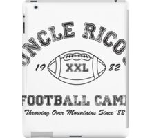 Uncle Rico's Football Camp iPad Case/Skin