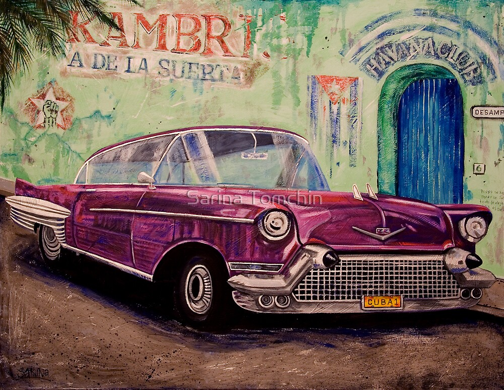 Cuba 1 by Sarina Tomchin