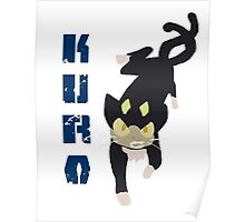 Kuro Blue Exorcist Poster