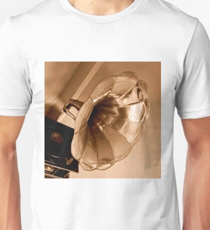 Antique Vintage Gramophone Gifts Music Lovers                                 Unisex T-Shirt