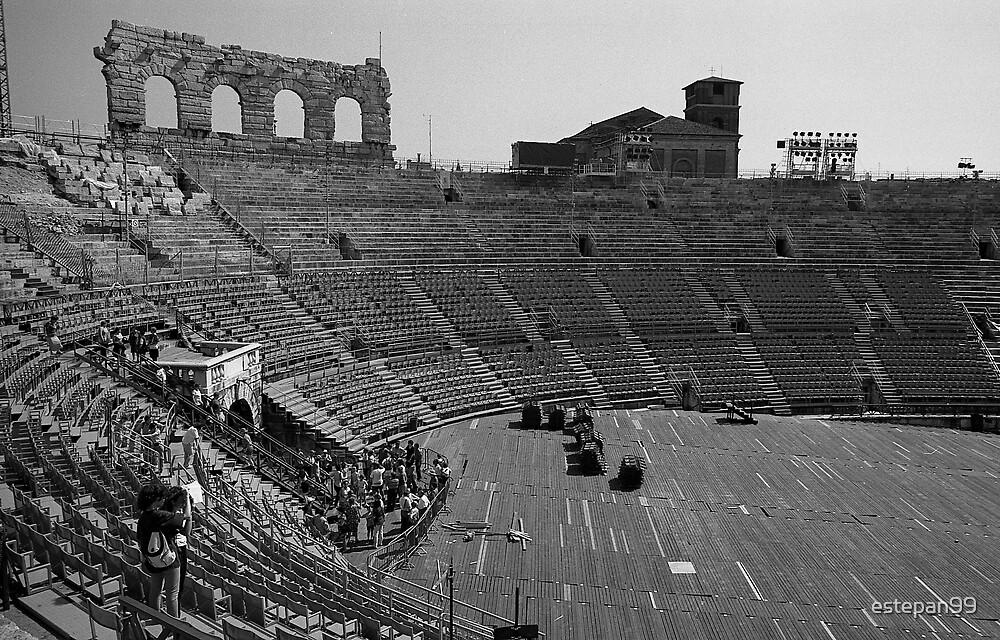 verona arena by estepan99