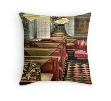Back To The Fifties Throw Pillow