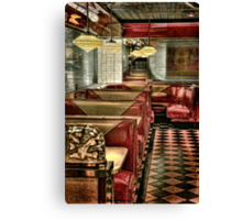Back To The Fifties Canvas Print