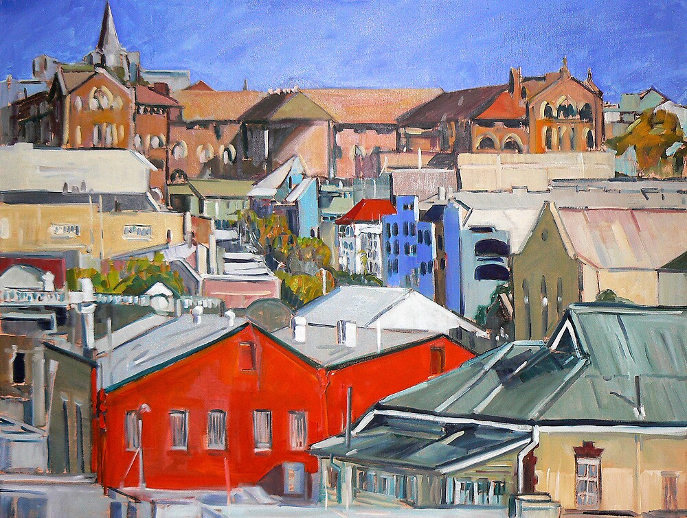 Urbanscape 2 by Paul  Milburn