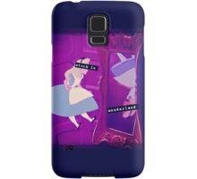 Stuck in Wonderland Samsung Galaxy Case/Skin