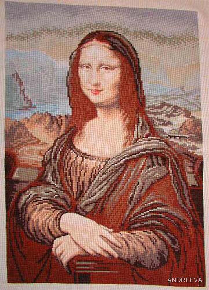 GOBELIN MONA LISA by ANDREEVA