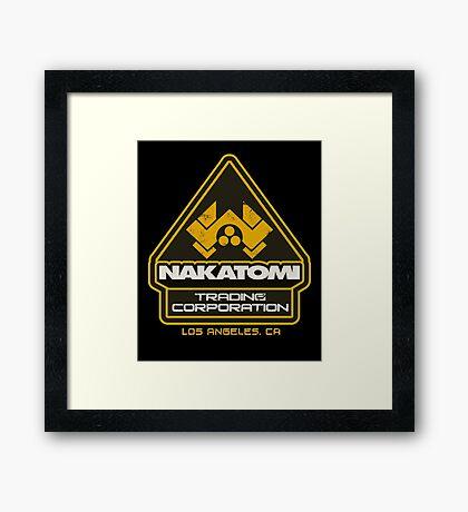 Nakatomi Trading Corporation.  Framed Print
