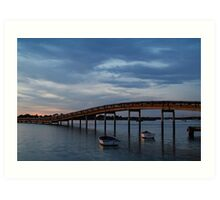 Swan Bay, Queenscliff Art Print