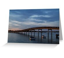 Swan Bay, Queenscliff Greeting Card