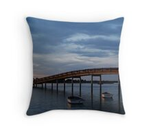Swan Bay, Queenscliff Throw Pillow