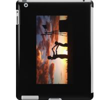 Silhouette Playing... Free State, South Africa  iPad Case/Skin
