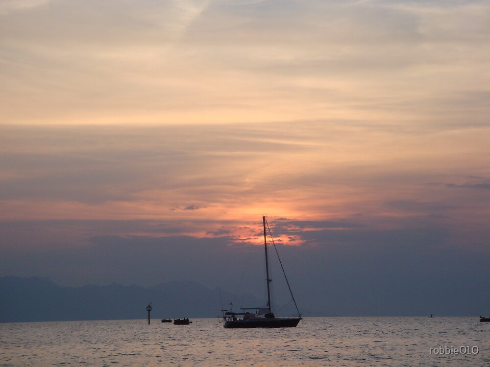 Bali Sunset II by robbie010