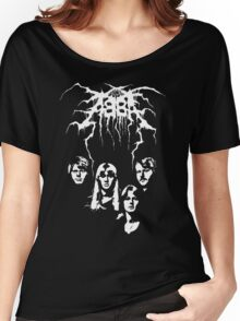 ABBA Black Metal Women's Relaxed Fit T-Shirt