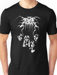 ABBA Black Metal Unisex T-Shirt