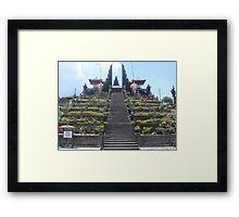 Mountain Temple Framed Print