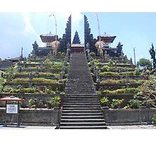 Mountain Temple Photographic Print