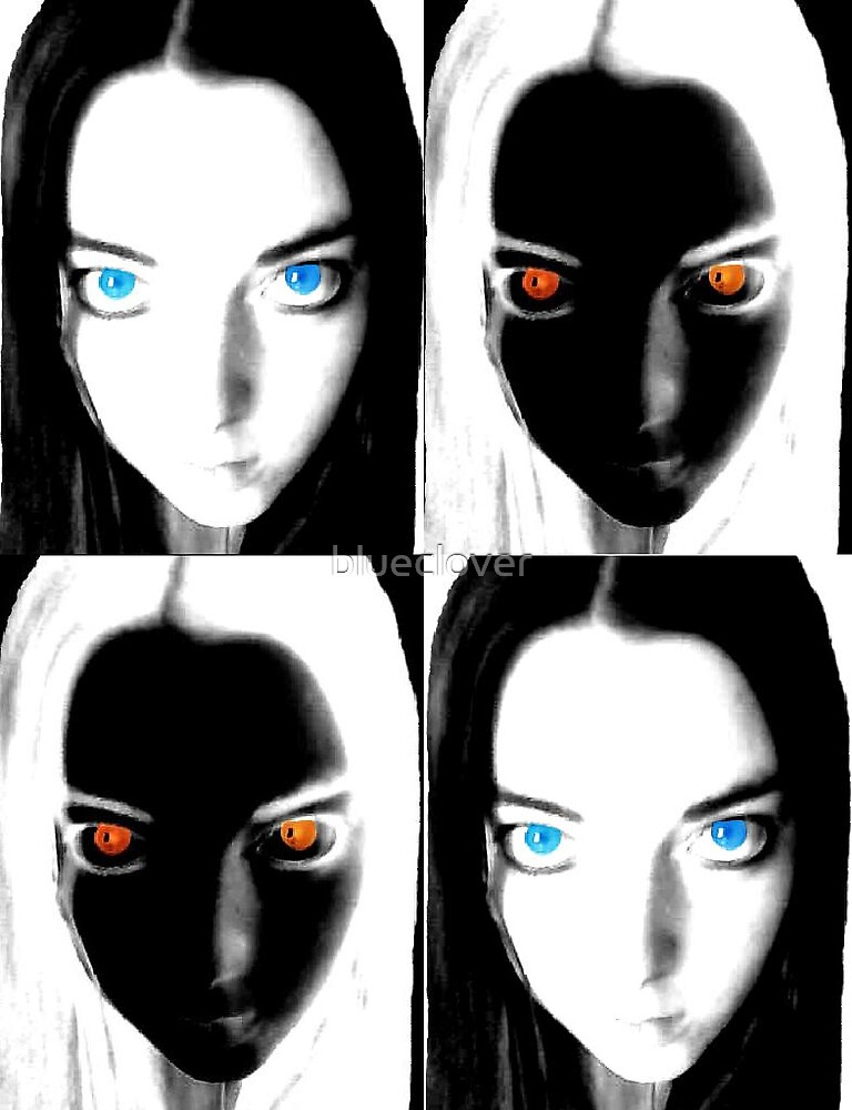 Self Portrait x4 by blueclover
