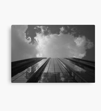 Looking Up v8 - AIG building, Hong Kong Canvas Print