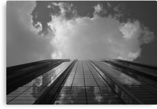 Looking Up v8 - AIG building, Hong Kong by Jonathan Russell