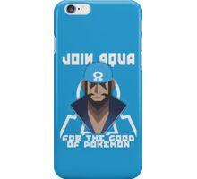 JOIN TEAM AQUA iPhone Case/Skin