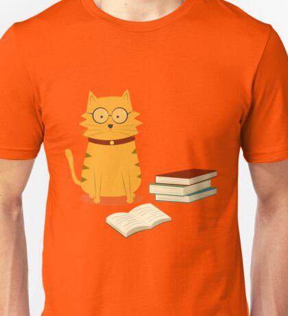 Nerdy Cat Unisex T-Shirt