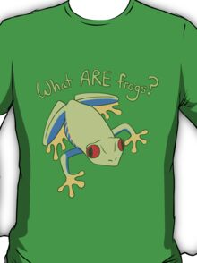 What ARE Frogs? (Tree edition) T-Shirt