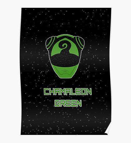 Kyuranger - Chamaleon Green Poster