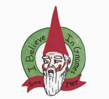 I believe in Gnomes Kids Clothes