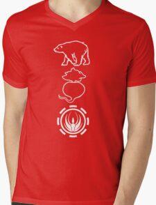 Bears. Beats. Battlestar Galactica Mens V-Neck T-Shirt